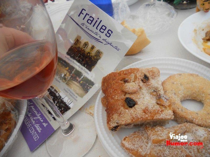postres y vino frailes jaen