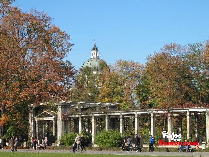jardines palacio de wilanow varsovia