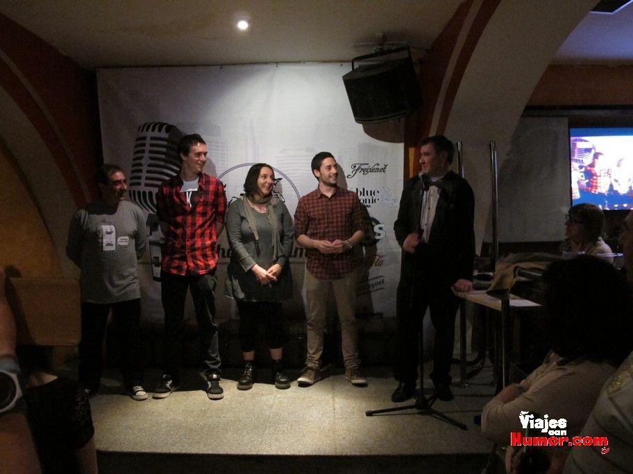 Semifinal del concurso de monólogos de Alfaro