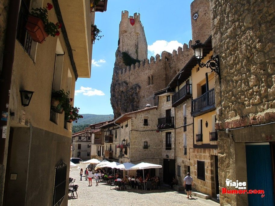 castillo de frias burgos