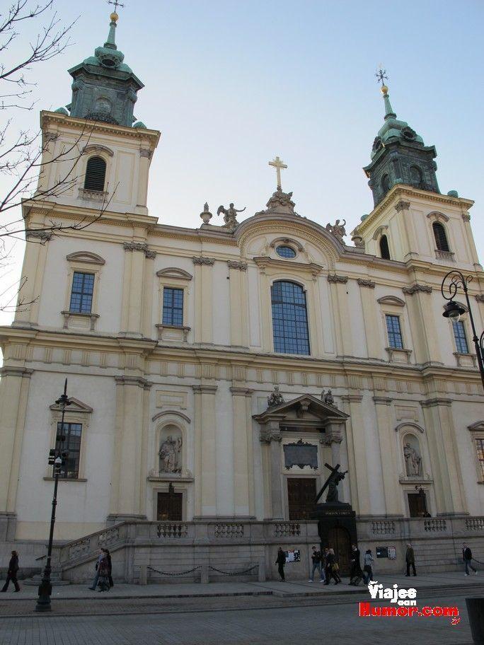 iglesia de la santa cruz varsovia corazon chopin