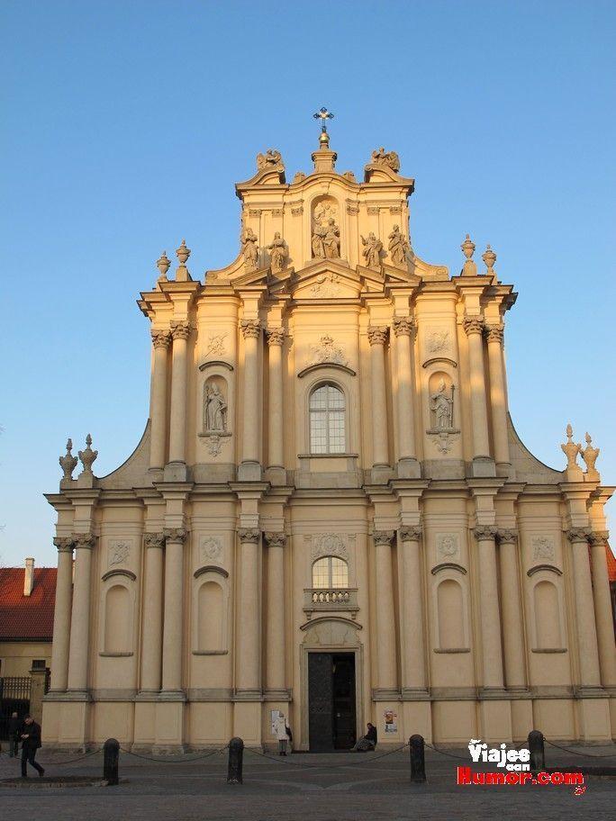 iglesia de san jose varsovia polonia