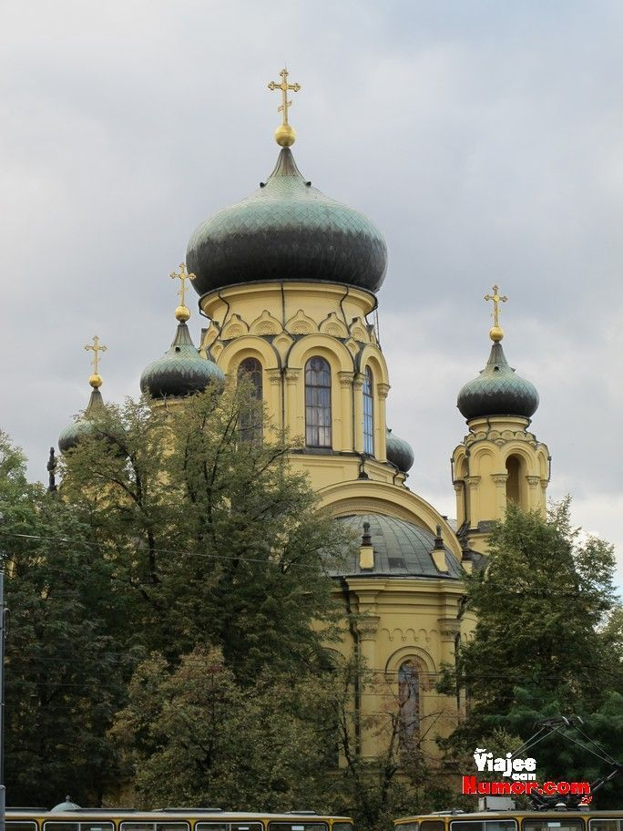 iglesia ortodoxa barrio de praga varsovia