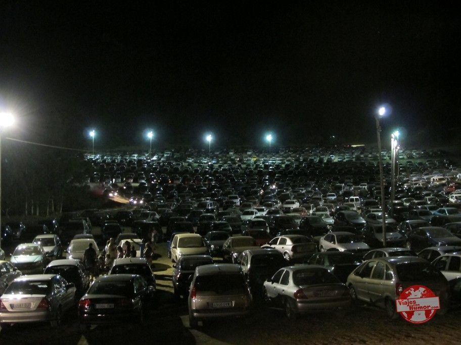 aparcamiento luna mora de guaro