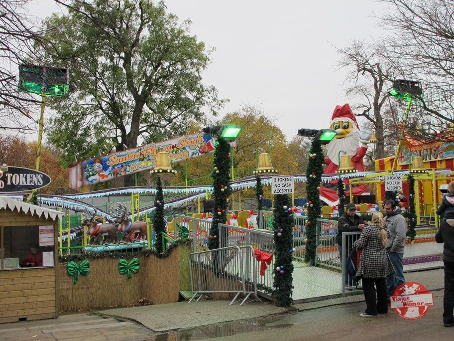 atracciones mercado navideño green park londres