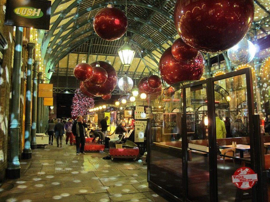 galerias comerciales londres decoracion navideña
