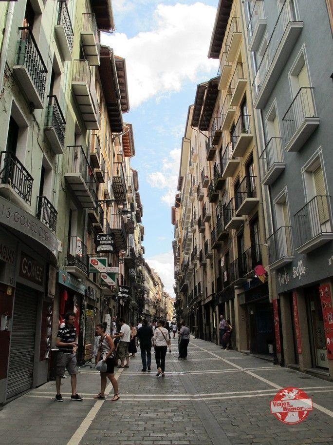 calle san nicolas pamplona