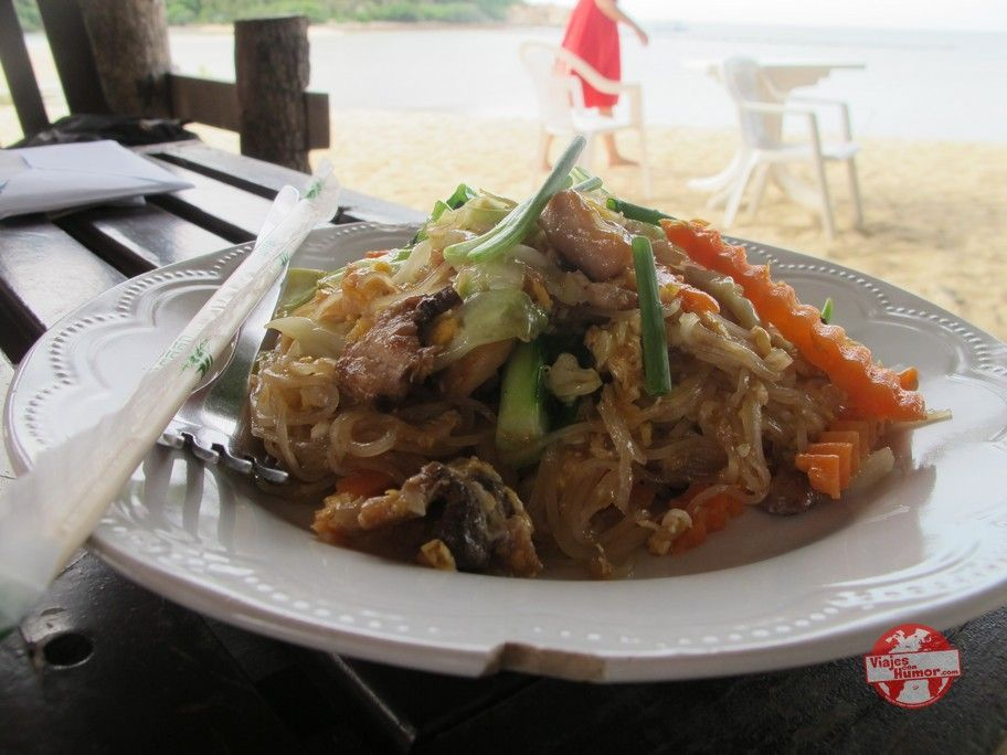 comida en ko pha ngan haad mae haad