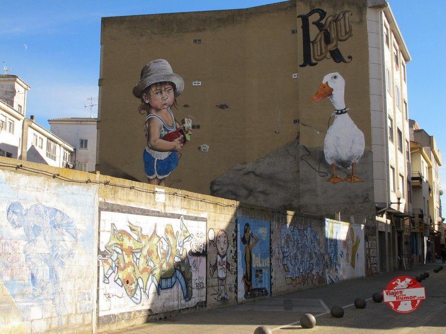 graffitis en la bañeza leon