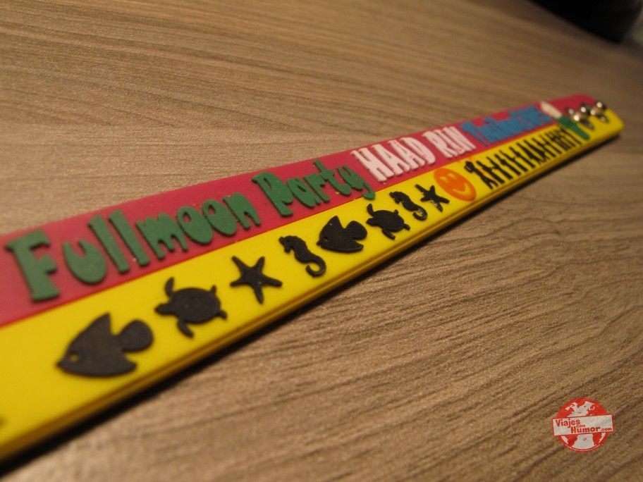 pulsera full moon party