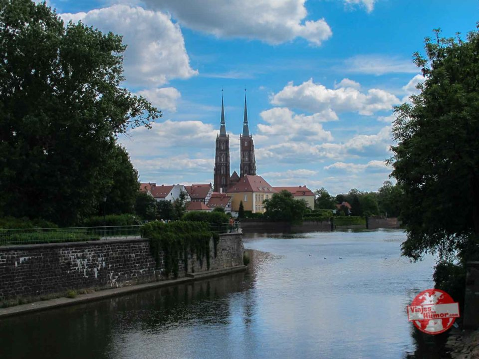 Ostrów Tumski Wroclaw_