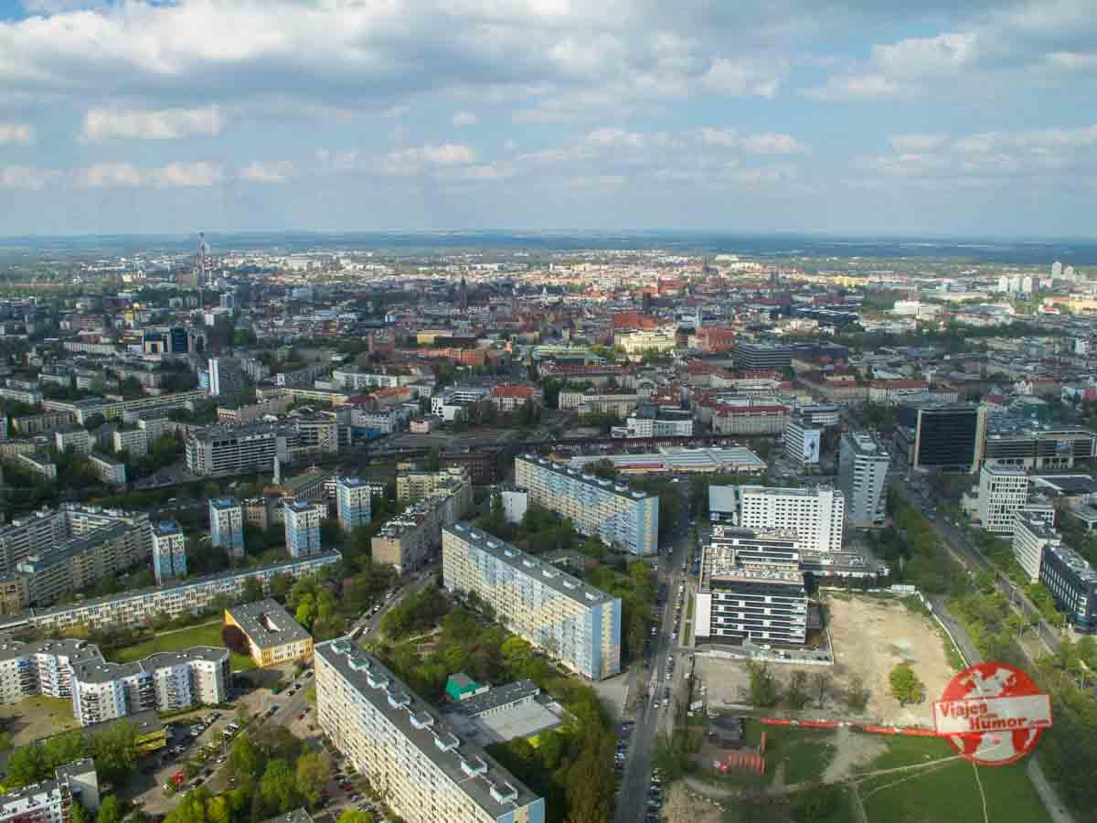 subir sky tower breslavia