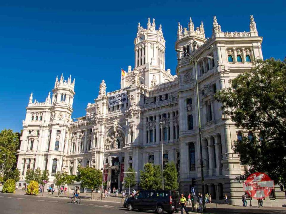 edificio ayuntamiento madrid