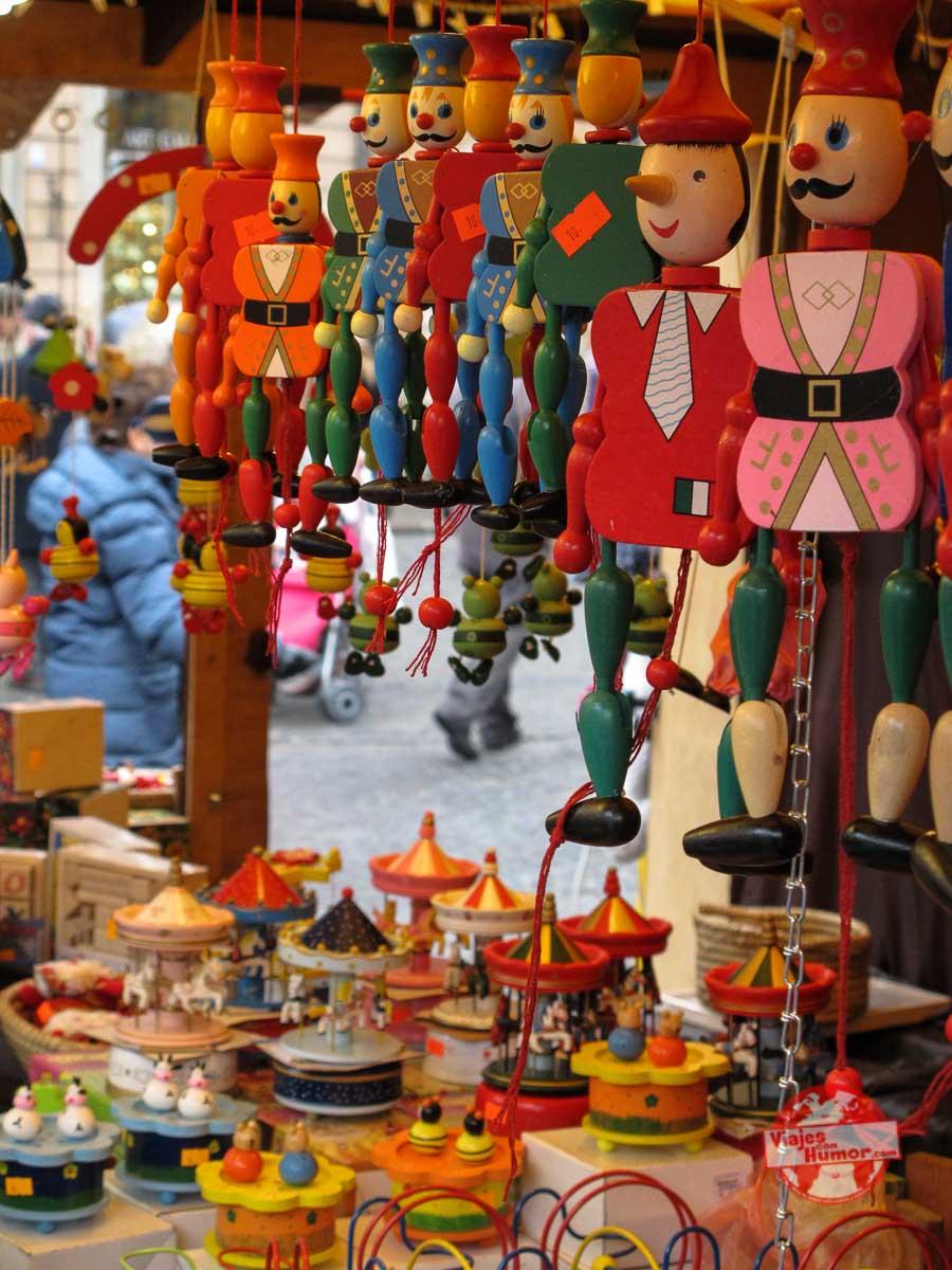 mercado navideño varsovia