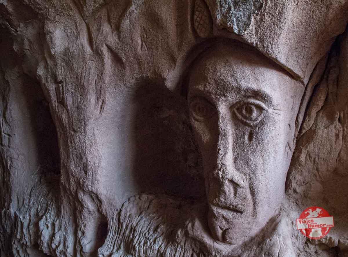 indico cueva de los cien pilares arnedo
