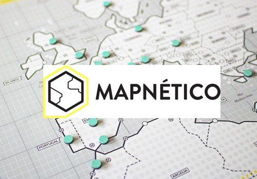 mapa magnético regalo