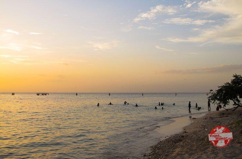 atardecer en playas de jamaica