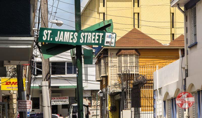 saint james street montego bay