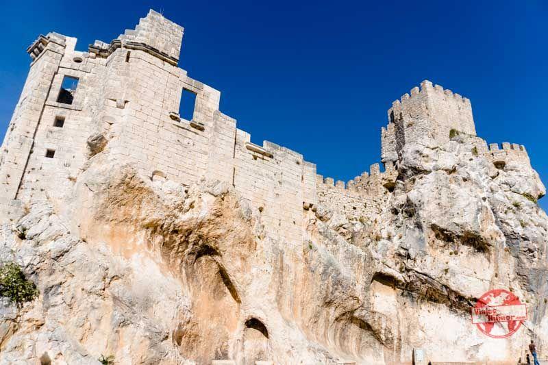 castillo en zuheros