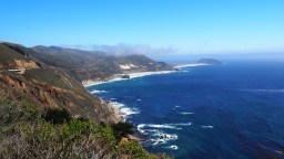 La costa del Pacífico bajando por la Route 1.