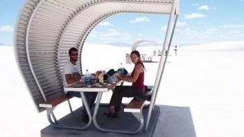 Geniales las góndolas para picnic