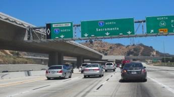 Camino a Sacramento