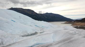 Vistas desde el glaciar