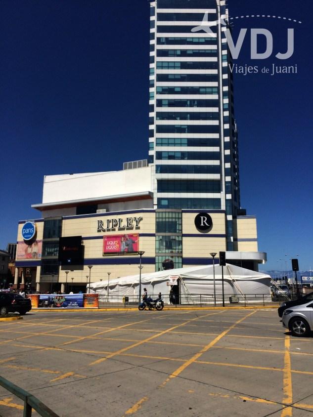 Principal mall de la ciudad
