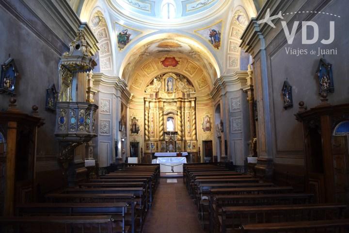 sala de la iglesia
