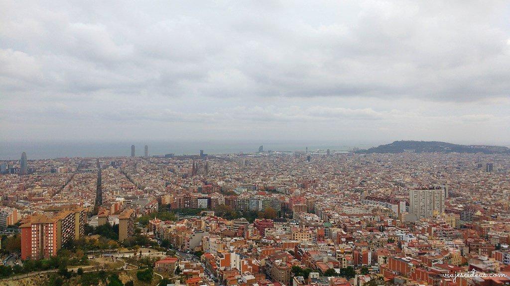 Los búnkers del Carmel, el mejor mirador de Barcelona