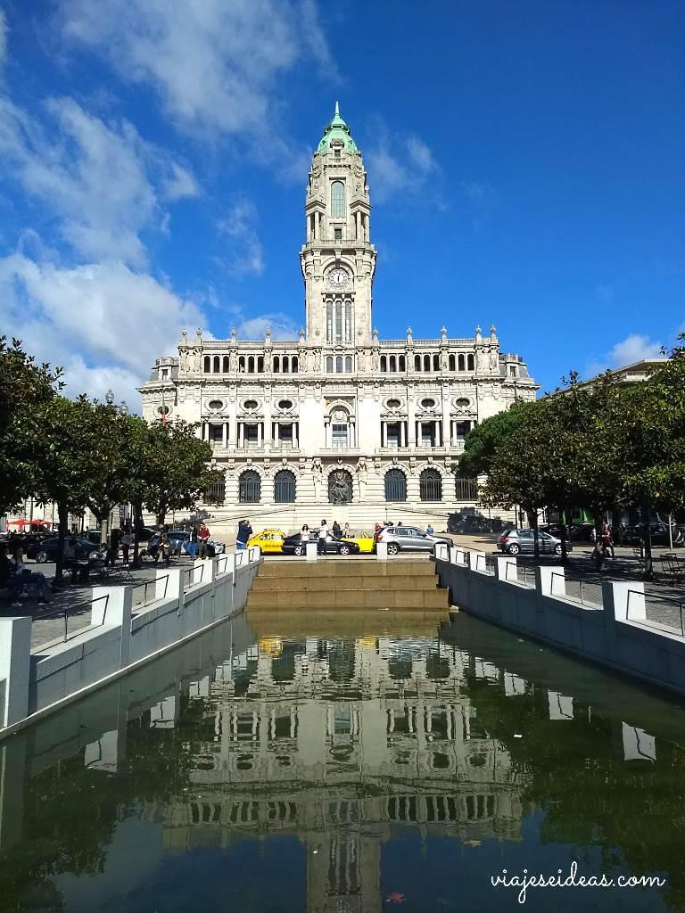 Avenida dos Aliados, viaje a Oporto