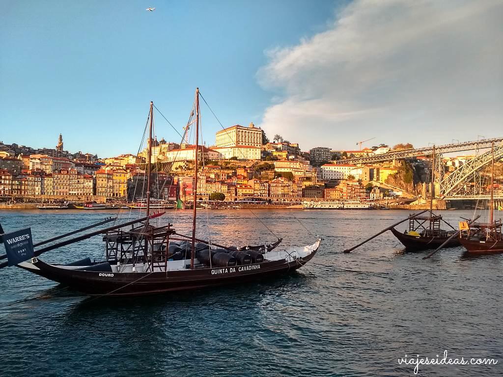 Atardecer viaje a Oporto