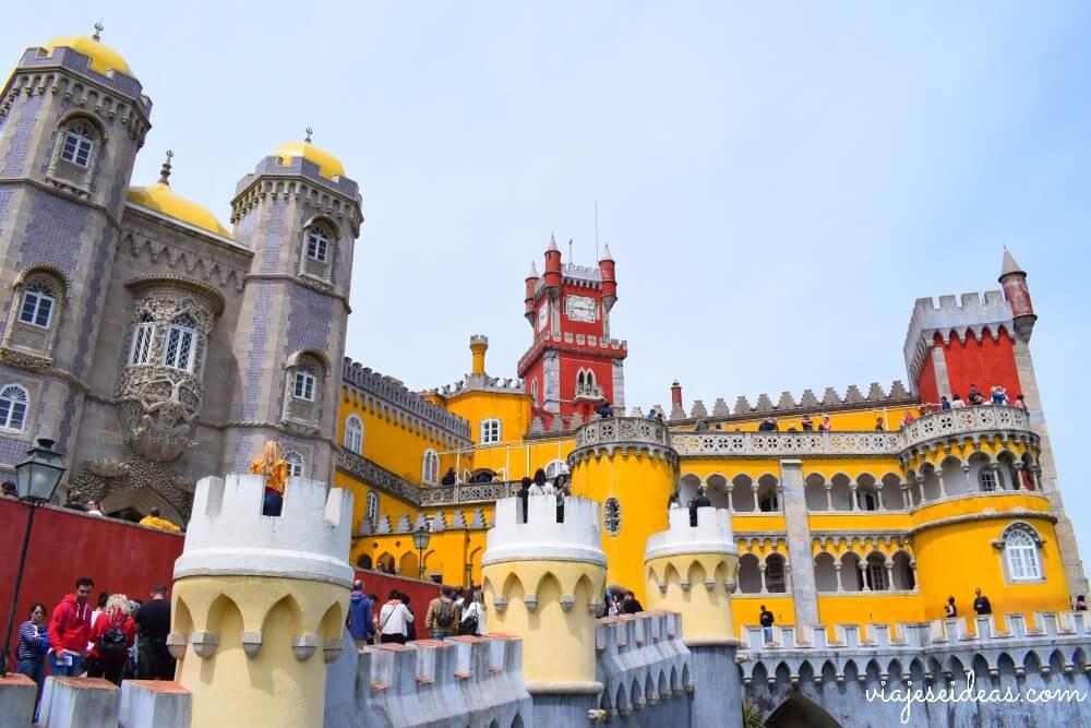Resultado de imagen de palacio da pena