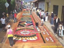 alfombras de acerrin en comayagua