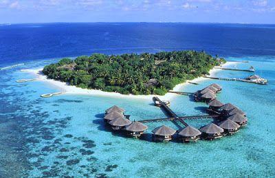 Las hermosas Islas Maldivas