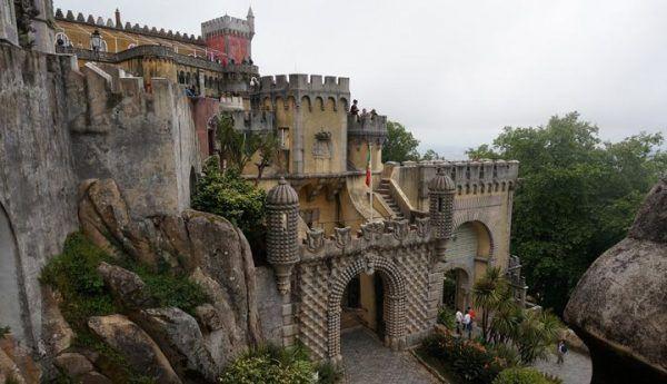 El lugar más Romántico de Portugal: el palacio de la pena