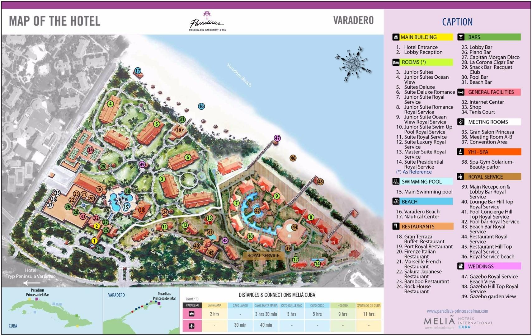 Book Online Paradisus Princesa Del Mar Resort Amp Spa Hotel