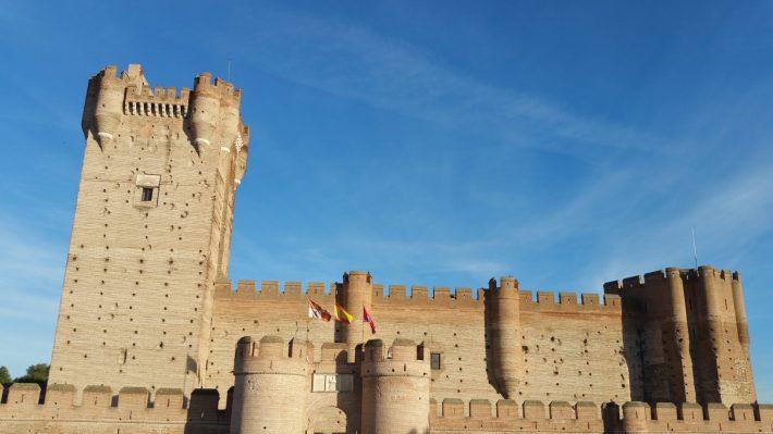 Castillo de La Mota (Medina del Campo, Valladolid). 5 de los castillos más impresionantes y bonitos de España.