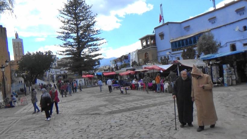 Plaza Uta Al Hamman. Chefchaouen (Marruecos)