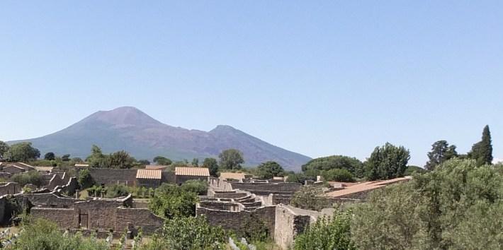 Vesubio. Pompeya (Italia)