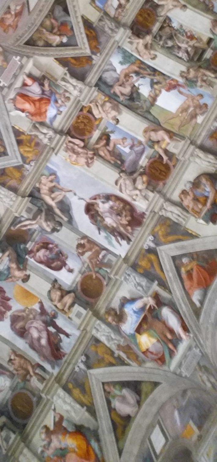 La capilla Sixtina. El Vaticano (Ciudad del Vaticano)