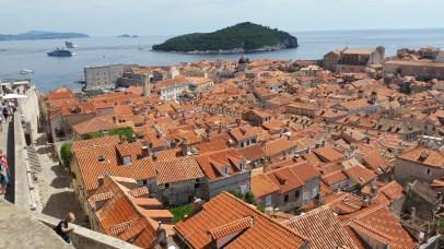 Tejados. Dubrovnik (Croacia)