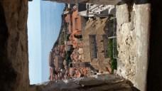 Vistas desde lo alto de las murallas. Dubrovnik (Croacia)