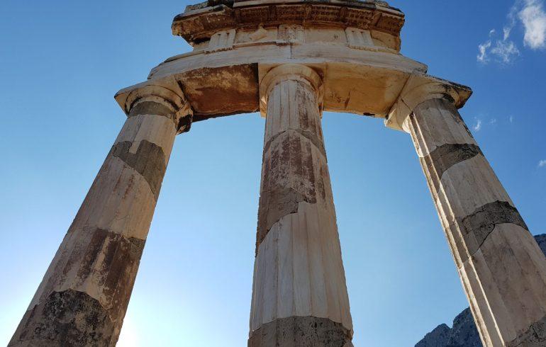 Tholos. Delfos (Grecia)