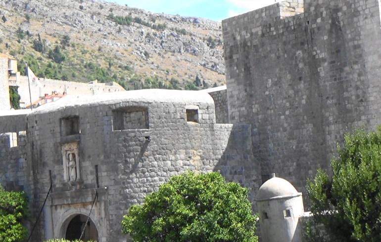 Puerta Pile. Dubrovnik (Croacia)