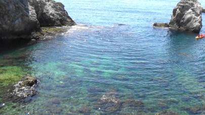 Aguas perfectas para el snorkel. Dubrovnik (Croacia)