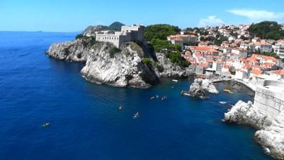 Fuerte de Lovrijenac. Dubrovnik (Croacia)