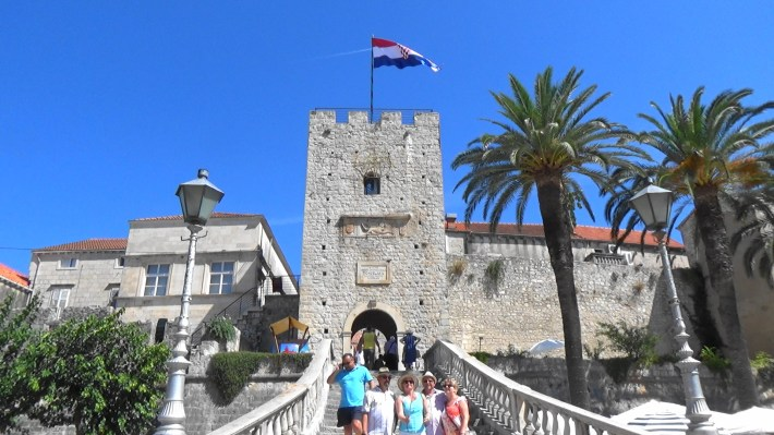 Torre Veliki Revelin. Kórcûla (Croacia)