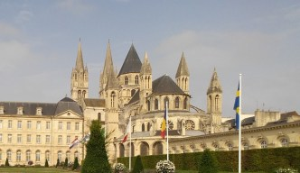 Abbaye aux Hommes. Caen (Francia)