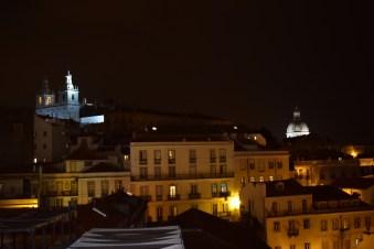 Vistas desde Largo Portas do Sol. Lisboa (Portugal)